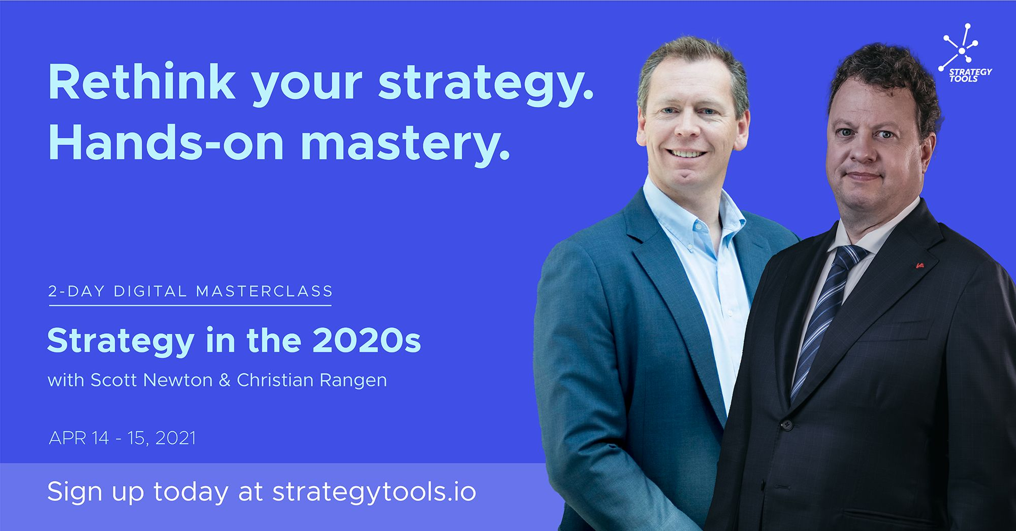 New Masterclass online April 2021 Scott Newton Christian Rangen