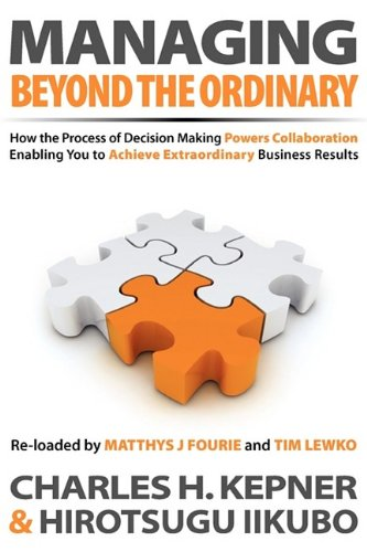 Managing Beyond the Ordinary