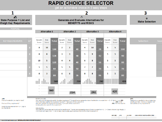 RAPID CHOICE SELECTOR